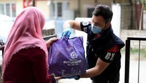 Denizlide 20 bin aileye ramazan paketi