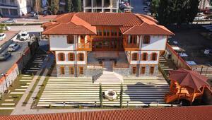 Osmaniyede Devlet Bey Konağı inşaatı tamamlandı