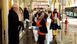 Diyarbakır Büyükşehir Belediyesinden berber ve kuaförlere maske