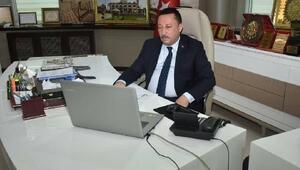 Beyoğlu, video konferansla belediyenin çalışmalarını anlattı