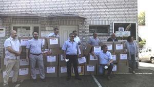 DİTİB'den karantinadaki sığınmacılara yardım