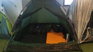 Koronavirüsten sonra kamp çadırına talep arttı
