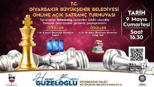 Diyarbakırda online açık satranç turnuvası