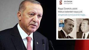 Cumhurbaşkanı Erdoğan suç duyurusunda bulunmuştu Soruşturma başlatıldı...