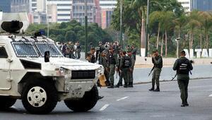 Darbe yapmak için Venezuelaya girenlerden yakalananların sayısı 23e çıktı