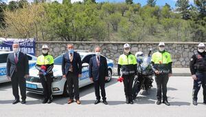 Trafik polislerine özveri teşekkürü