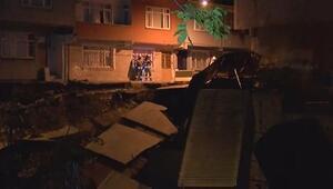 Son dakika haberi: İstanbulda sahurda korkutan göçük