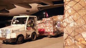 Son dakika haberler: Tunusa tıbbi yardım malzemeleri  gönderildi