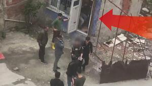 Taciz iddiası mahalleyi karıştırdı Esnaf barakaya hepsini kilitledi...