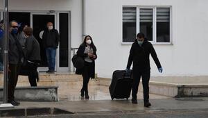 Tokatta karantina süresi dolan 323 kişi evlerine gönderildi