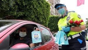 Adana polisinden koronavirüs denetimi