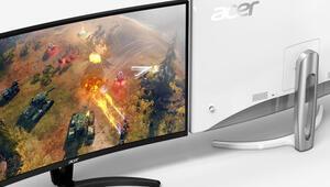Acer, yeni kavisli monitörlerini gün yüzüne çıkardı