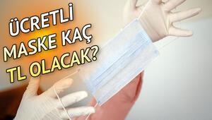İstanbulda ücretli maske satışı başladı.. Ücretli maske fiyatı nedir, kaç TLden satılacak
