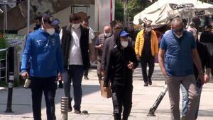 Vatandaşlar Corona Virüse aldırmadı, Bağdat Caddesi yine doldu