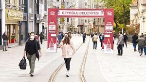 Beyoğlu Kaymakamlığı duyurdu: 'Taksim'e maskesiz gelmeyin'