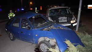 Konyada feci kaza 1 ölü 4 yaralı var