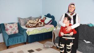 Engelli iki çocuk annesi:İsterdim ki, bir kez olsun anne desinler