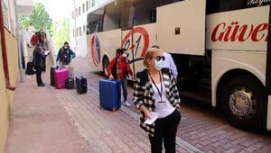 Düzce'de karantina süreleri dolan 226 kişi evlerine gönderildi