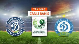 Brestte 7 eksik Dinamo Minsk karşısında iddaada galibiyetlerine...