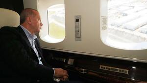 Cumhurbaşkanı Erdoğandan salgın hastanelerinde inceleme