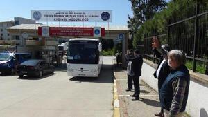 Aydında karantina süreleri dolan 379 kişi evlerine gönderildi