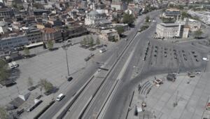 İstanbulda sokağa çıkma kısıtlamasının ilk günü