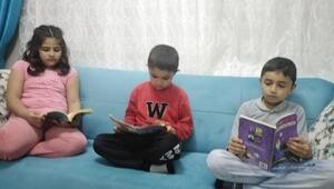Gercüşte öğrenciler için evde kitap okuma etkinliği