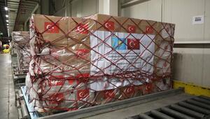 MSB: Kazakistan'a tıbbi yardım malzemeleri gönderildi