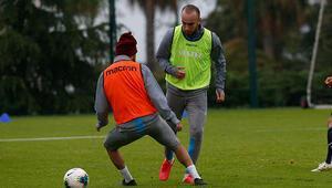 Trabzonspor çift antrenmanla çalışmalarını sürdürdü