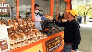 Glutensiz büfe hizmete açıldı