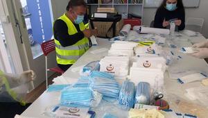 YTB'nin desteğiyle Almanya'da tıbbi malzeme yardımı