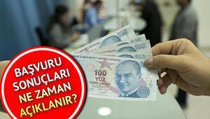 10 bin TL kredi başvurusu nasıl yapılır Ziraat Bankası Vakıfbank ve Halkbank temel ihtiyaç kredisi sonuçları nasıl öğrenilir