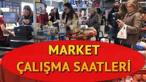Marketler sabah kaçta açılıyor Marketler saat kaça kadar açık