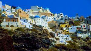 Mimarisi ve doğasıyla ünlü Ege adası: Santorini