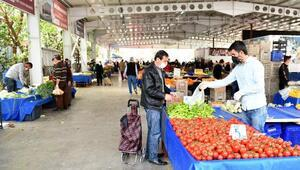 Muratpaşada hafta sonu pazarlar açılıyor