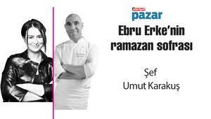 Umut Karakuş ,Ebru Erkenin ramazan sofrasında