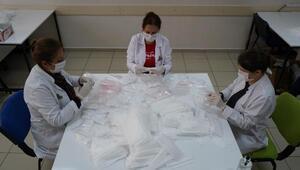 Büyükşehir Belediyesinin ürettiği maske sayısı 400 bini aştı