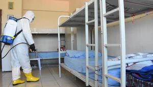 İzmirdeki cezaevlerinde koronavirüs tedbirleri