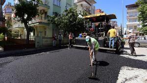 Kepezden iki mahalleye 11 bin ton sıcak asfalt