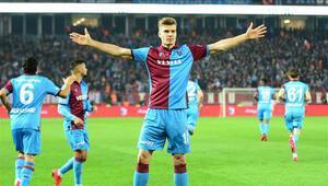 Trabzonsporda hücumcular işini biliyor