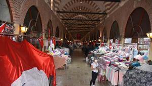 Edirnede tarihi Alipaşa Çarşısının kapıları açıldı