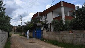 Gaziantepin İslahiye ilçesinde 2 ev, karantinaya alındı