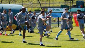 Trabzonspor çalışmalarını sürdürüyor