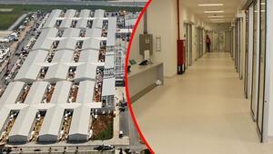 Cumhurbaşkanı Erdoğanın talimatıyla yapımına başlanmıştı İşte Pandemi Hastanesi