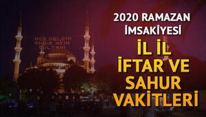 İftar saatleri Ramazan İmsakiyesi 11 Mayıs 2020: İftar vakti ezan ne zaman okunacak İstanbul, Ankara, İzmir tüm illerin iftar vakitleri