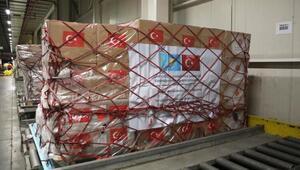 Türkiyenin gönderdiği tıbbi yardım Kazakistana ulaştı