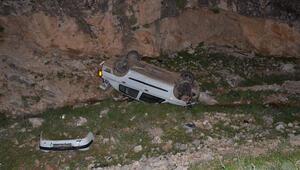 Adıyamanda otomobil devrildi: 4 yaralı