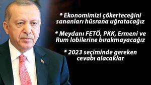 Cumhurbaşkanı Erdoğan: Cumhur İttifakını daha da güçlendirmeye kararlıyız