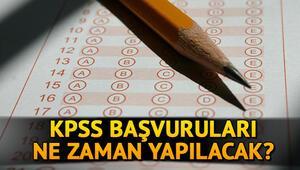 KPSS başvuru tarihi açıklandı mı KPSS 2020 başvuruları ne zaman yapılacak
