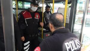 Sultangazi'de minibüs sürücüleri polisten kaçamadı